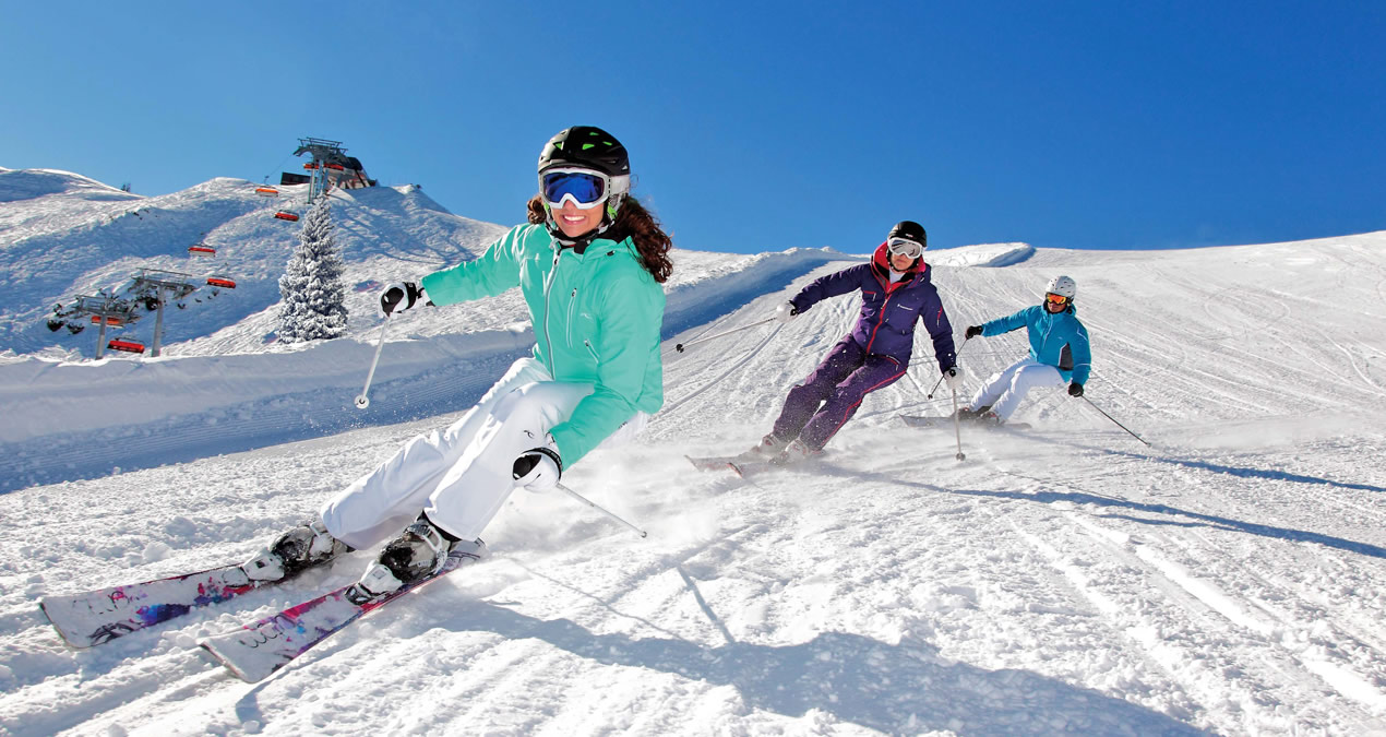 Rodinná lyžovačka